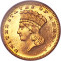 Proof Gold Dollars, 1886 G$1 PR64 PCGS....