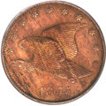 Patterns, 1855 1C Flying Eagle Cent, Judd-170a, Pollock-196, R.8, PR62 PCGS.CAC....