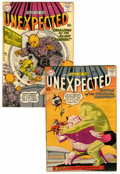 Silver Age (1956-1969):Horror, Tales of the Unexpected #40 and 46 Group (DC, 1959-60).... (Total:2 Comic Books)