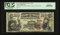 National Bank Notes:Kentucky, Louisville, KY - $100 1882 Brown Back Fr. 530 The LouisvilleNational Banking Company Ch. # 5161. ...