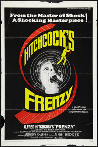 """Frenzy Lot (Universal, 1972). One Sheets (2) (27"""" X 41""""). Hitchcock. ... (Total: 2 Items)"""