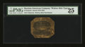 World Currency: , Russian-American Company 25 Kopek ND (1816-1867) Printed on WalrusSkin Parchment Pick UNL. ...