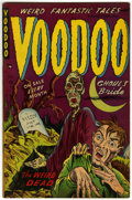 Golden Age (1938-1955):Horror, Voodoo #6 (Farrell, 1953) Condition: FN/VF....