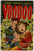 Golden Age (1938-1955):Horror, Voodoo #7 (Farrell, 1953) Condition: FN/VF....