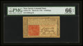 Colonial Notes:New Jersey, New Jersey March 25, 1776 6s PMG Gem Uncirculated 66 EPQ.. ...