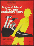 """Movie Posters:Comedy, The Tall Blond Man with One Black Shoe (Gaumont, 1972). French Affiche (22.75"""" X 30.5""""). Comedy.. ..."""