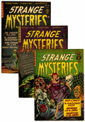 Golden Age (1938-1955):Horror, Strange Mysteries #10-12 Group (Superior, 1952) Condition: AverageFN.... (Total: 3 Comic Books)