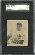 Baseball Cards:Singles (1940-1949), 1948 Bowman Phil Rizzuto RC SP #8 SGC 40 VG 3....