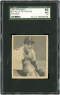 Baseball Cards:Singles (1940-1949), 1948 Bowman Allie Reynolds Rookie #14 SGC 86 NM+ 7.5....