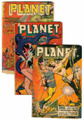 Golden Age (1938-1955):Science Fiction, Planet Comics Group (Fiction House, 1947-53).... (Total: 7 ComicBooks)