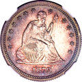 Proof Seated Quarters, 1879 25C Seated Quarter PR64 NGC....