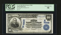 National Bank Notes:Pennsylvania, Swineford, PA - $10 1902 Plain Back Fr. 624 The First NB Ch. #(E)7003. ...