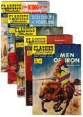 Golden Age (1938-1955):Classics Illustrated, Classics Illustrated First Editions Group (Gilberton, 1951-56)Condition: Average FN+.... (Total: 5 Comic Books)