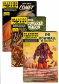 Golden Age (1938-1955):Classics Illustrated, Classics Illustrated Group (Gilberton, 1950s).... (Total: 18 ComicBooks)
