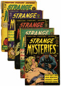Golden Age (1938-1955):Horror, Strange Mysteries #13-17 Group (Superior, 1954).... (Total: 5 ComicBooks)