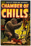 Golden Age (1938-1955):Horror, Chamber of Chills #14 Double Cover (Harvey, 1952) Condition:VF-....