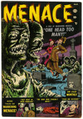 Golden Age (1938-1955):Horror, Menace #1 (Atlas, 1953) Condition: VG+....