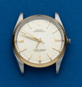 Timepieces:Wristwatch, Rolex Ref. 1005 Steel & Gold Oyster Perpetual. ...