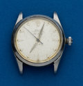 Timepieces:Wristwatch, Rolex Ref. 5500 Steel Air King Oyster Perpetual. ...