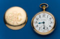 Timepieces:Pocket (post 1900), Illinois, 24 Jewel, Bunn Special, ORC Case. ...