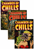 Golden Age (1938-1955):Horror, Chamber of Chills #19-26 Group (Harvey, 1953-54).... (Total: 8Comic Books)