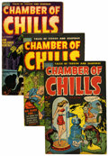 Golden Age (1938-1955):Horror, Chamber of Chills Group (Harvey, 195).... (Total: 10 Comic Books)