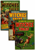 Golden Age (1938-1955):Horror, Witches Tales Group (Harvey, 1952-54).... (Total: 7 Comic Books)