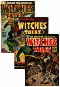 Golden Age (1938-1955):Horror, Witches Tales Group (Harvey, 1952-54) Condition: Average VG/FN....(Total: 10 Comic Books)