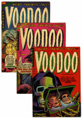 Golden Age (1938-1955):Horror, Voodoo #15-17 Group (Farrell, 1953).... (Total: 3 Comic Books)