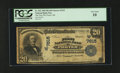 National Bank Notes:Oklahoma, Porter, OK - $20 1902 Plain Back Fr. 652 The First NB Ch. # (W)7615. ...