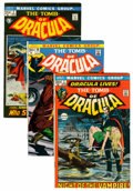 Bronze Age (1970-1979):Horror, Tomb of Dracula Group (Marvel, 1972-79) Condition: Average FN/VF.... (Total: 70 Comic Books)
