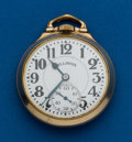 Timepieces:Pocket (post 1900), Illinois, 161A, 21 Jewel, 60 Hour Bunn Special, Elinvar. ...