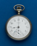 Timepieces:Pocket (post 1900), N.Y. Standard, 16 Size, Chronograph. ...