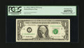 Error Notes:Mismatched Serial Numbers, Fr. 1922-I $1 1995 Federal Reserve Note. PCGS Extremely Fine40PPQ.. ...