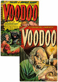 Golden Age (1938-1955):Horror, Voodoo #18 and 19 Group (Farrell, 1952) Condition: VG/FN....(Total: 2 Comic Books)