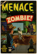 Golden Age (1938-1955):Horror, Menace #5 (Atlas, 1953) Condition: FN....