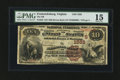 National Bank Notes:Virginia, Fredericksburg, VA - $10 1882 Brown Back Fr. 482 The NB ofFredericksburg Ch. # (S)1582. ...