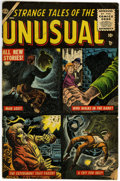 Golden Age (1938-1955):Horror, Strange Tales of the Unusual #1 (Atlas, 1955) Condition: VG....