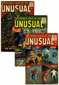 Golden Age (1938-1955):Horror, Strange Tales of the Unusual #2, 3, and 11 Group (Atlas,1955-56).... (Total: 3 Comic Books)
