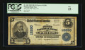 National Bank Notes:Virginia, Fries, VA - $5 1902 Plain Back Fr. 609 The First NB Ch. # 12290....