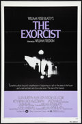 "Movie Posters:Horror, The Exorcist (Warner Brothers, 1974). One Sheet (27"" X 41""). Flat Folded. Horror.. ..."