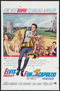 "Movie Posters:Elvis Presley, Fun in Acapulco (Paramount, 1963). One Sheet (27"" X 41"") andPressbook (Multiple Pages, 12.25"" X 15""). Elvis Presley.. ...(Total: 2 Items)"