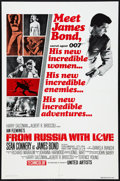 "Movie Posters:James Bond, From Russia with Love (United Artists, R-1980). One Sheet (27"" X41""). James Bond.. ..."