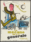 """Movie Posters:Comedy, The General (United Artists, R-1962). French Affiche (22.5"""" X 30.5""""). Comedy.. ..."""