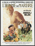"""Movie Posters:Drama, Man of Marble (Films Moliere, 1977). French Affiche (22"""" X 32""""). Drama.. ..."""