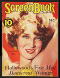 """Movie Posters:Miscellaneous, Screen Book (Fawcett Publications, 1931). Magazine (Multiple Pages, 8.5"""" X 11""""). Miscellaneous.. ..."""