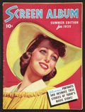 """Movie Posters:Miscellaneous, Screen Album (Dell Publishing, 1939). Magazine (Multiple Pages, 8.5"""" X 11.5""""). Miscellaneous.. ..."""