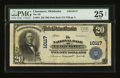 National Bank Notes:Oklahoma, Claremore, OK - $20 1902 Plain Back Fr. 654 The NB of Claremore Ch. # 10117. ...