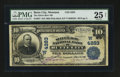 National Bank Notes:Montana, Butte City, MT - $10 1902 Plain Back Fr. 627 The Silver Bow NB Ch.# (W)4283. ...