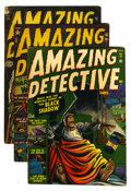 Golden Age (1938-1955):Horror, Amazing Detective Cases #11, 12, and 14 Group (Atlas, 1952)....(Total: 3 Comic Books)